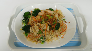 Thai Special Stir-Fried  Rice Vermicelli with Vegetables
